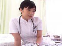 【前田陽菜 看護師】目の手術を終えたM患者さんを言葉責めして勃起させ手コキ射精させる(裏)手コキクリニック