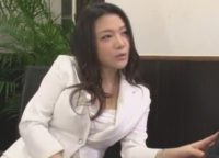 SEXのハードルが異常に低い世界で面接官の内田美奈子が新卒男女と入り乱れて肉欲交尾