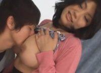 【高島恭子】優等生の次男を溺愛する巨乳ママが息子のお顔にお乳を押し付けて甘えさせ母子相姦交尾