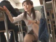 【三浦恵理子】自分が勤務する学校の生徒と禁断の関係を育む女教師が校内で求めてくる彼を性処理SEX