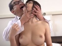 【石川祐奈】キモい町医者に治療と称して臭い唾液のついた舌で顔中を舐め回され膣内に精液を中出しされ妊娠する若妻