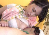 【大谷翔子】高身長の美人保母さんが低身長のおむつM男と幼児プレイでおっぱい授乳しながら変態オ●ンチンを手コキ射精