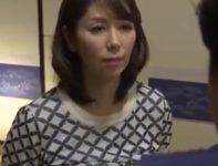 【翔田千里 義母相姦】息子に自信がアンドロイドであることがバレてしまった巨乳義母が最後のお別れに涙ながらの母子相姦SEX