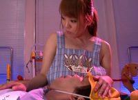 【Hitomi】爆乳保母さんとの妄想を抱く園長が大人の園児になっておっぱいに甘えおっ起したオ●ンチンをお乳で包み込まれSEX
