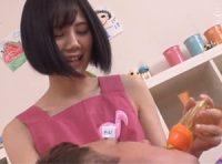 【涼森れむ】紙オムツした大人の園児と幼児プレイする可愛いママさんがおっぱいに甘える園児にお乳吸わせ赤ちゃんプレイSEX